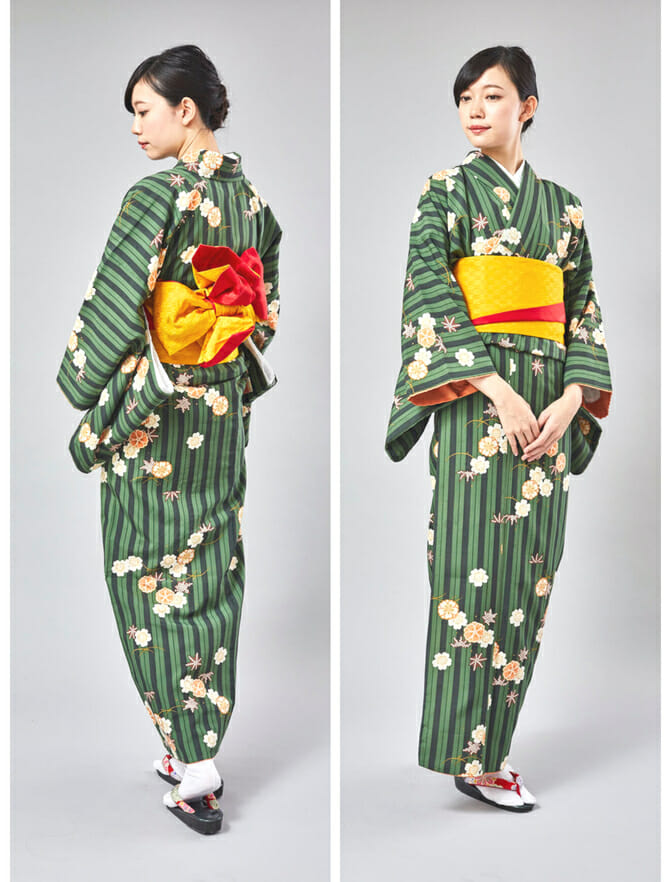 The basic Kimono rental course